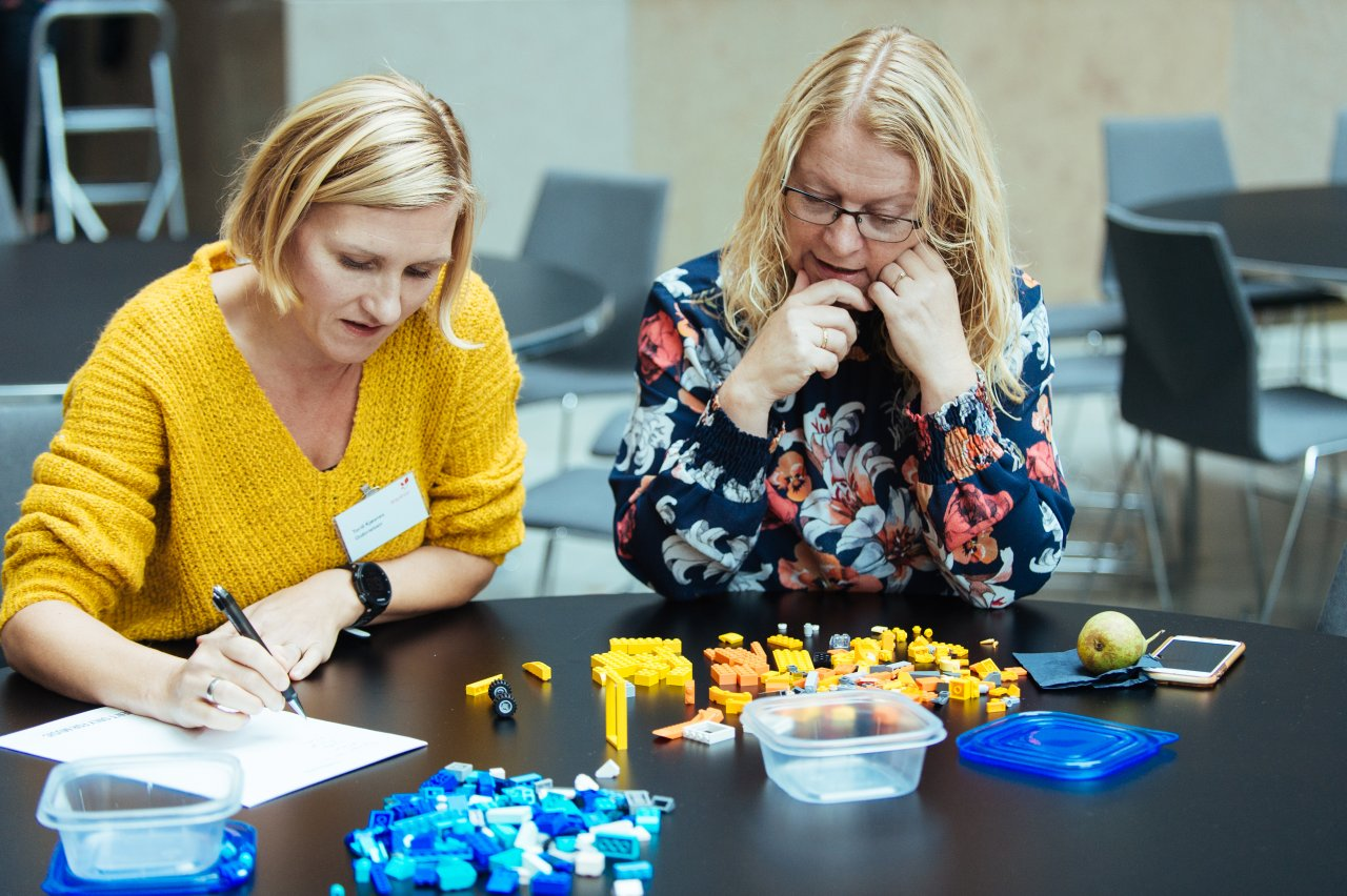 Working with LEGO can spark the imagination and help encourage teamwork